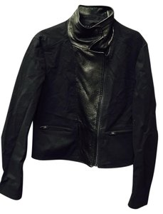 Theory Moto Leather Motorcycle Jacket