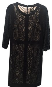 Laundry by Shelli Segal Lace Overlay Fitted Dress