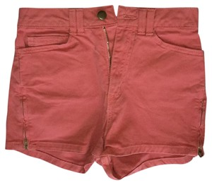 American Apparel Mini/Short Shorts Salmon