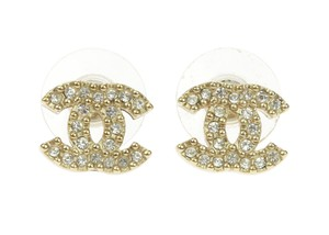 Chanel Chanel Swarvoski Mini CC Crystal Earrings
