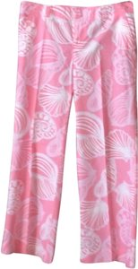 Lilly Pulitzer Relaxed Pants Pink, white