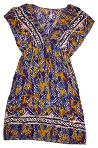 Xhilaration short dress Black, Blue, Purple, Gold Boho Bohemian on Tradesy