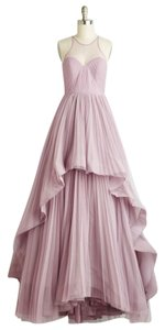 Modcloth Lilac Polyester/Spandex/Tulle Heiress Of Them All Formal Wedding Dress Size 4 (S)