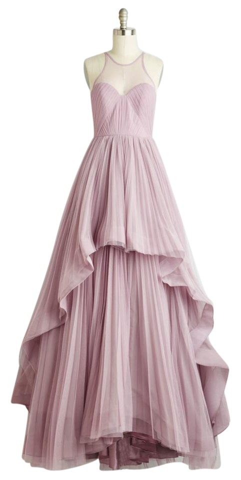 Modcloth Lilac Polyester/Spandex/Tulle Heiress Of Them All Formal ...