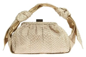 Givenchy Python Satchel in Cream