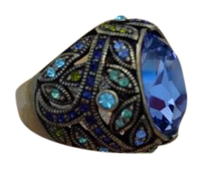 Item - Amethyst Sm Green Aqua Purple Lt Blue Mega Ring