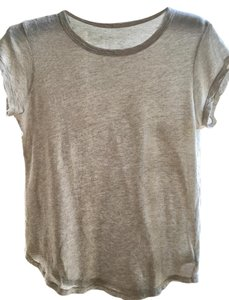 James Perse T Shirt heathered grey