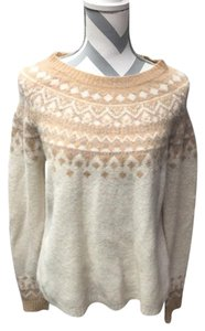 Joie Alpaca Wool Fair Isle Sweater