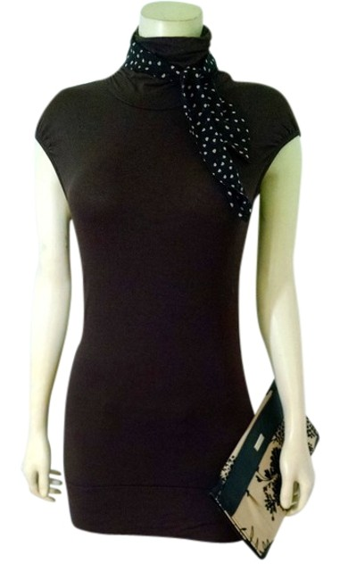 Kenneth Cole Brown Stretch Small Above Knee P1239 Short Casual Dress Size 4 (S) Kenneth Cole Brown Stretch Small Above Knee P1239 Short Casual Dress Size 4 (S) Image 1