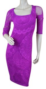 Jean-Paul Gaultier Mesh Bodycon Dress