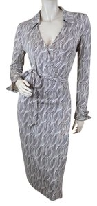 Diane von Furstenberg Wrap Geometric Dress