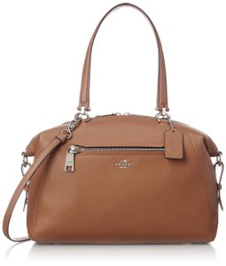 Coach 36560 889532054343 Prairie Satchel in Saddle