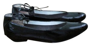 Other Vintage Ties Black Patent Leather Flats