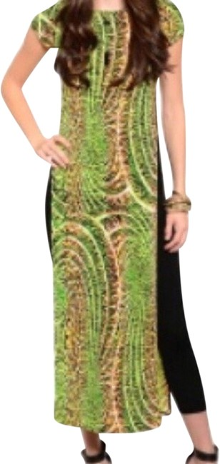 Preload https://item2.tradesy.com/images/lime-long-tunic-casual-maxi-dress-size-6-s-1987051-0-0.jpg?width=400&height=650