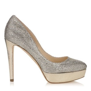 Jimmy Choo SILVER/CHAMPAGNE Pumps