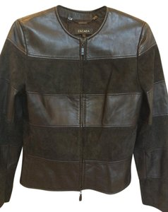 Escada Classic Elegant Timeless Leather Jacket