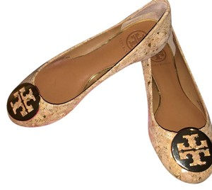 Tory Burch Brown/gold Flats