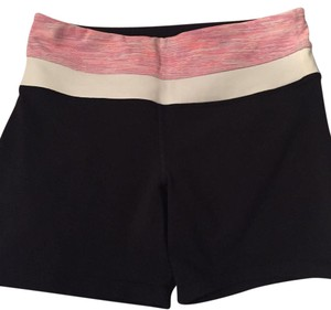 Lululemon Black, pink, white Shorts