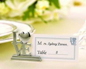 Love Place Card Holder's