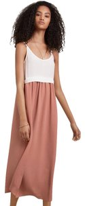 White, Pink Maxi Dress by Wilfred