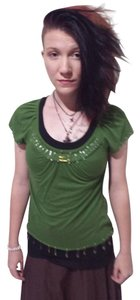 Decree Greenshirt Small Shirt Tunic