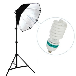 Photobooth Soft Box Light With Bulb