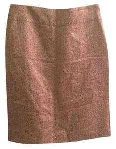 Banana Republic Skirt Tan and white print