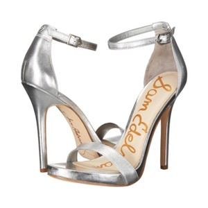 Sam Edelman Open Toe Silver Metallic Formal