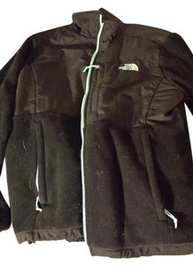 The North Face Black and Mint Jacket
