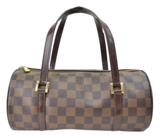 Preload https://item2.tradesy.com/images/louis-vuitton-papillon-the-brown-damier-leather-satchel-1987091-0-0.jpg?width=440&height=440
