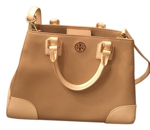 Tory Burch Habdbag Satchel in Very light caramel and cream