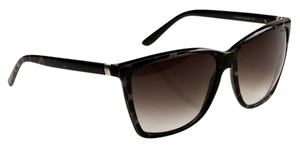 Saint Laurent NEW Yves Saint Laurent YSL 6347 Cheetah Animal Oversize Sunglasses