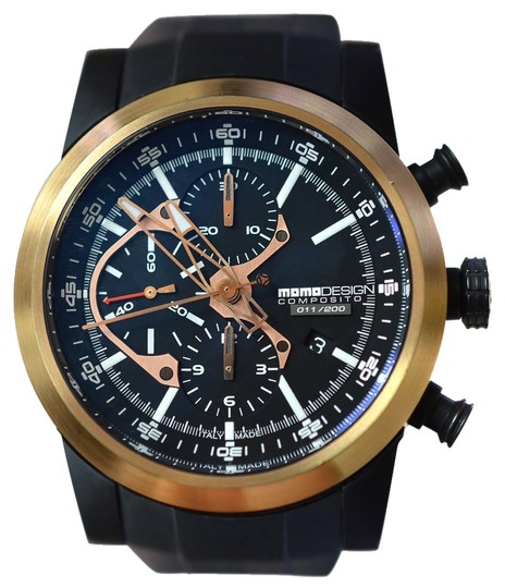 MomoDesign MOMO Design Composito MD280RP-01BKRP-RB Limited Chrono Automatic Watch