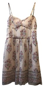 Abercrombie & Fitch short dress Pink Bustier Flare Boho Print on Tradesy