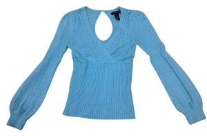 Arden B. Blue Vneck Sweater