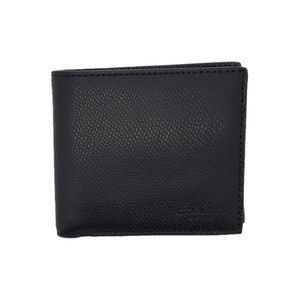 Coach Men's Billfold Sport Calf Leather Coin Wallet Black F74991