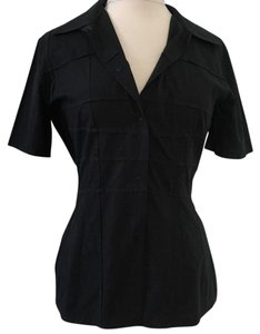 Sonia speciale Button Down Shirt Black