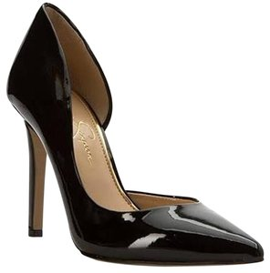 Jessica Simpson Patent Leather Stiletto Black Pumps