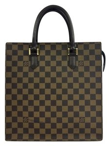 Louis Vuitton Lv Venice Brown Canvas Tote in damier