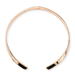 PAMELA LOVE Pamela Love Irissa Onyx-Inlay Choker Necklace
