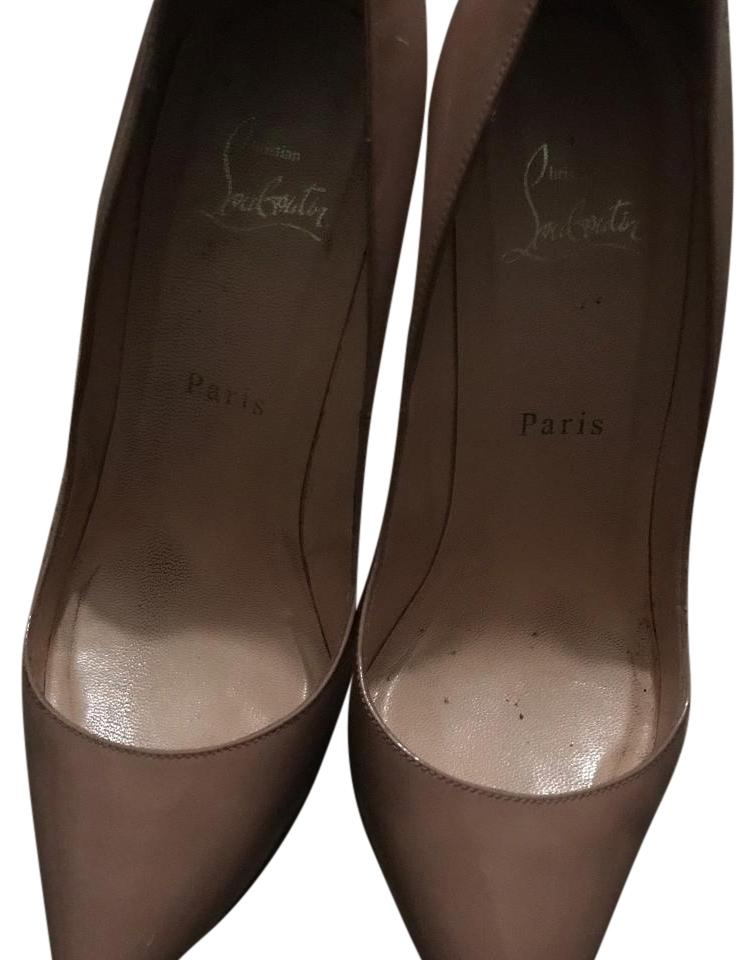Christian Louboutin Patent Pigalle 100mm Pumps Size US 8 Narrow (Aa ... 6dac3bb9eb53