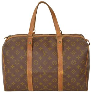 Louis Vuitton Sac Souple Boston Speedy Satchel in Brown