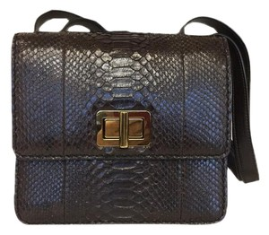 Chlo Python Leather Shoulder Bag