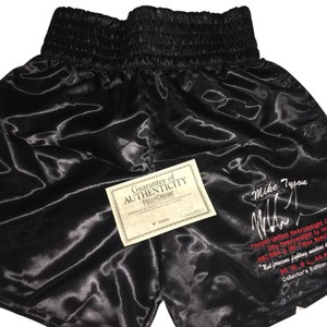 Mike Tyson's authographed boxing pants!