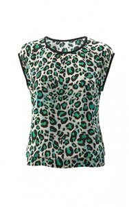 CAbi Animalprint Leopard Cheetah Top