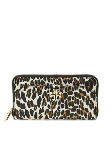 Tory Burch Authentic Leopard Print Continental Wallet $225