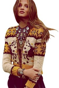 Free People Hipster Holiday Christmas Cardigan
