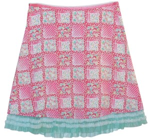 Anthropologie Skirt Pink