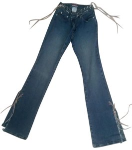 Other Flare Leg Jeans-Distressed
