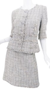 Chanel Chanel 10P Cotton Skirt Suit